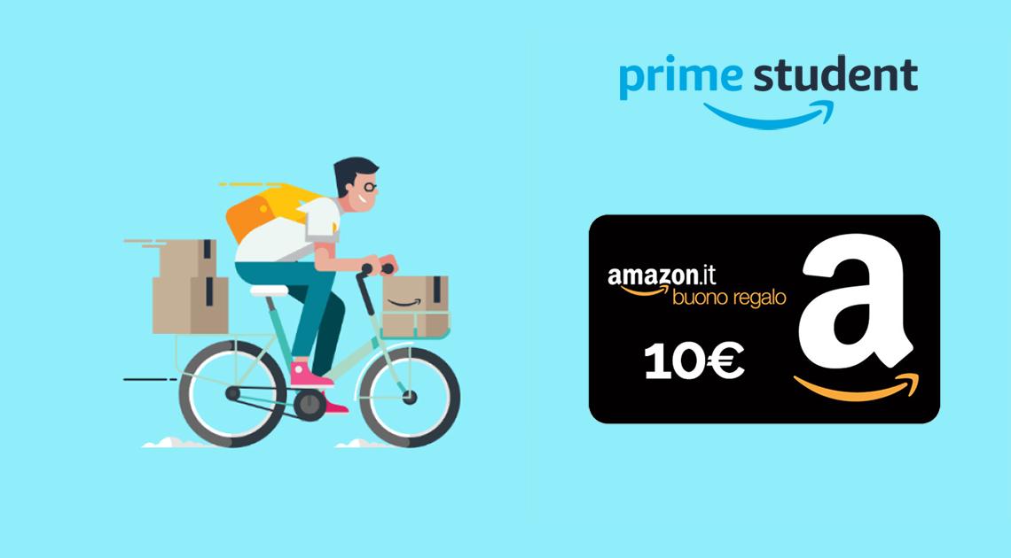 Amazon Student 10 Euro