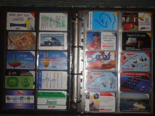Come conservare al meglio una collezione di schede telefoniche