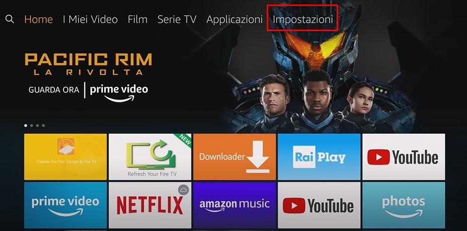 Come forzare la chiusura delle app su Amazon Fire TV Stick